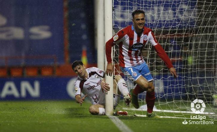 El Lugo rompe su mala racha y agrava la crisis del Albacete Balompié (1-0)