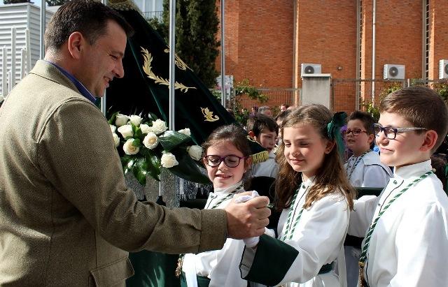 Lunes de procesiones en Albacete con los niños, más de 3.000, como protagonistas