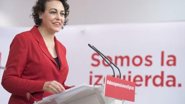 El 'sanchismo' se sale con la suya y Magdalena Valerio encabeza la lista del PSOE al Congreso en Guadalajara