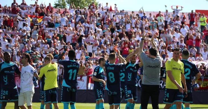 El Albacete Balompié gana al Rayo Majadahonda (2-3) y se aferra a la lucha por el ascenso directo