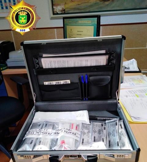 Policía Local de Chinchilla investiga a un hombre por conducir superando en más de 5 veces la tasa de alcohol permitida