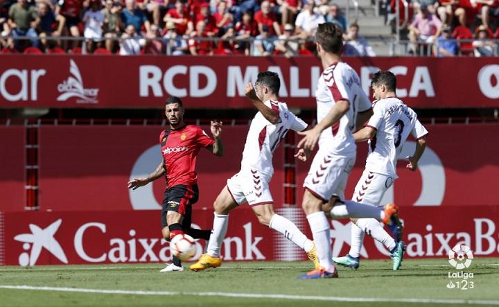 El Albacete Balompié ganó con solvencia en el campo del Real Mallorca (1-3)