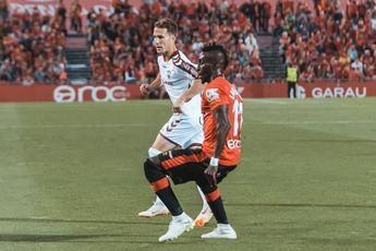 El Mallorca, que fue mejor, toma ventaja ante el Albacete en los play-off de ascenso (2-0)