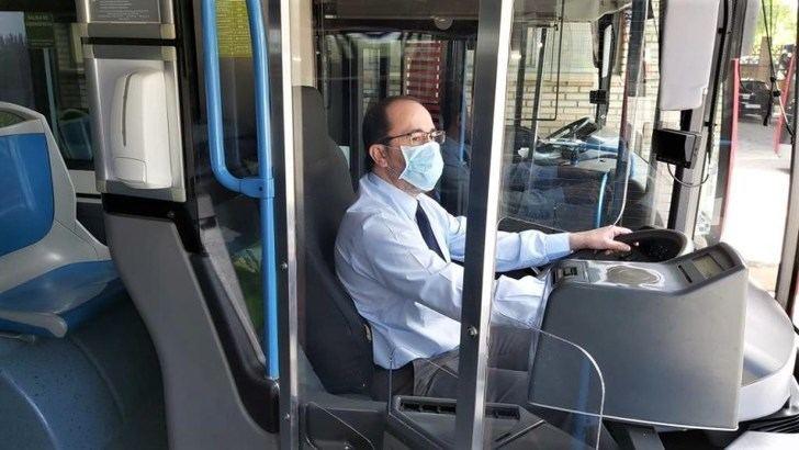 El lunes se ponen en marcha nuevas medidas de seguridad en los autobuses de Albacete