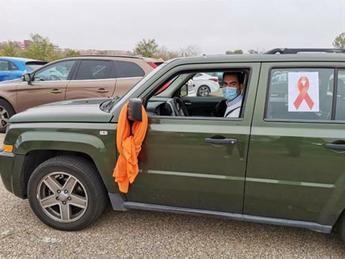 Miles de vehículos recorren las capitales de C-LM reclamando 'libertad de enseñanza' y en contra de la 'Ley Celaá'