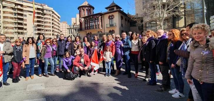 Miles de personas reivindican en Castilla-La Mancha la igualdad de derechos de las mujeres
