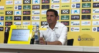 Manolo Jiménez, entrenador de la UD Las Palmas.