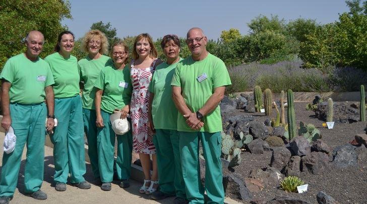 El Ayuntamiento de Albacete desarrolla un proyecto de formación para mantenimiento de jardines y viveros en el Jardín Botánico