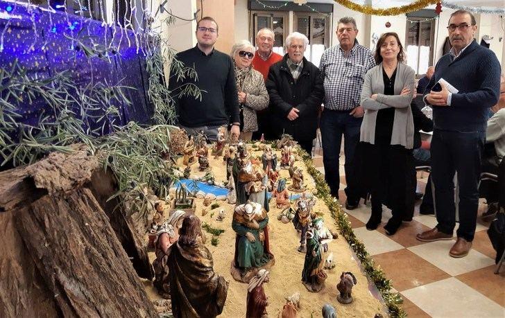 17 belenes participan en el concurso de las asociaciones de mayores de Albacete