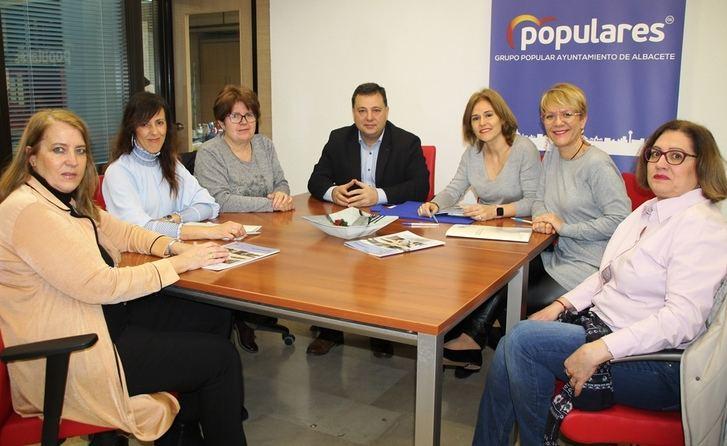 El PP del Ayuntamiento de Albacete agradece a AFA la confianza depositada en ellos para ser embajadores de su Plataforma Cívica
