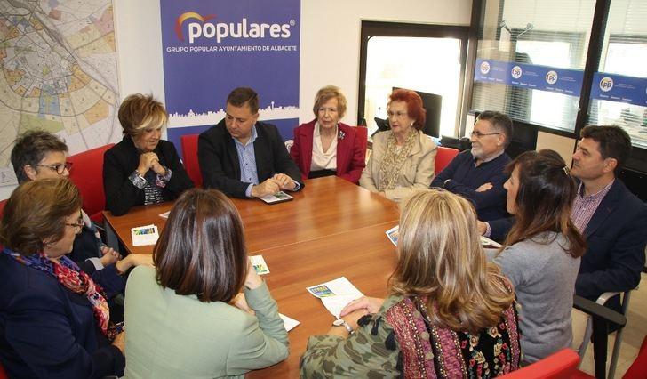 """El PP de Albacete agradece a ALUEX que sea """"cultura y antídoto para la sociedad"""" a través de la programación cada año"""