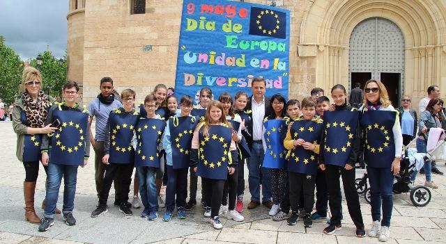 Albacete celebra el Día de Europa en la plaza 'Virgen de los Llanos'
