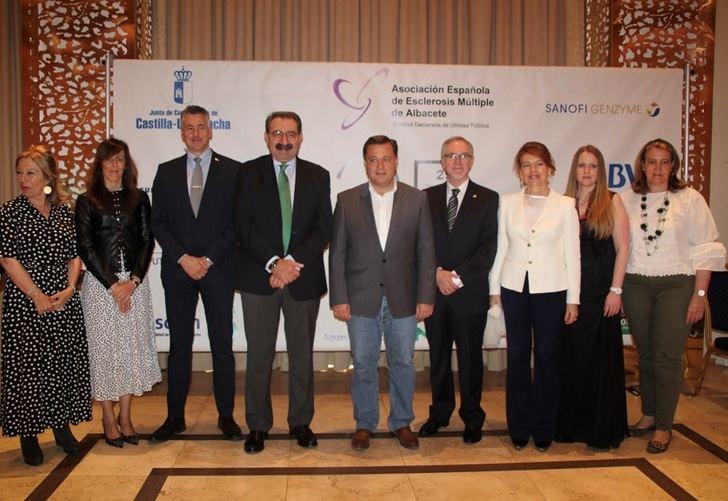 La Asociación Española de Esclerosis Múltiple de Albacete entrega los galardones de su 25 aniversario