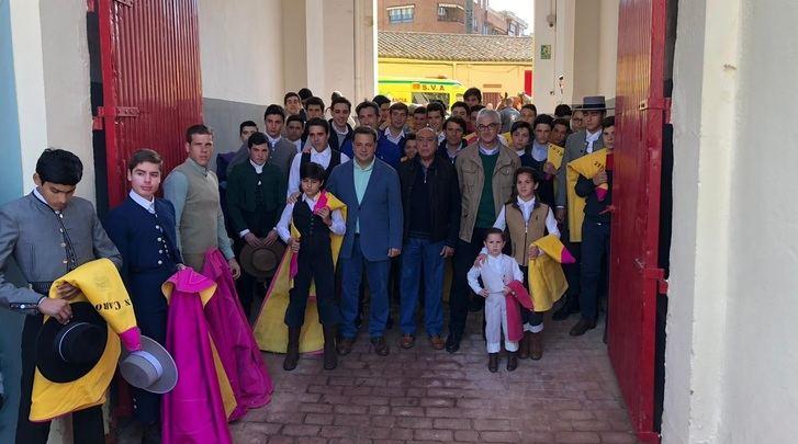 Albacete inicia las clases de 30 alumnos de 14 escuelas taurinas españolas