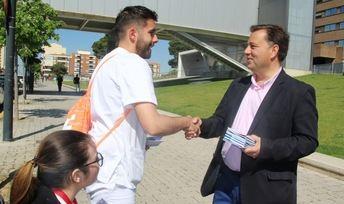 Manuel Serrano (PP) seguirá exigiendo una reforma integral del Hospital de Albacete, con todas las especialidades
