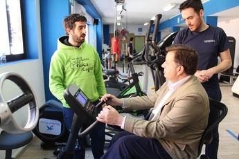 Metasport y su trabajo para facilitar la práctica del deporte a las personas con discapacidad, elogiados por el alcalde de Albacete