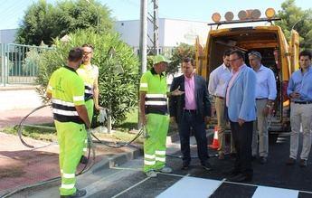 Nueva 'cara' para Campollano tras la inversión del Ayuntamiento de Albacete de 800.000 euros