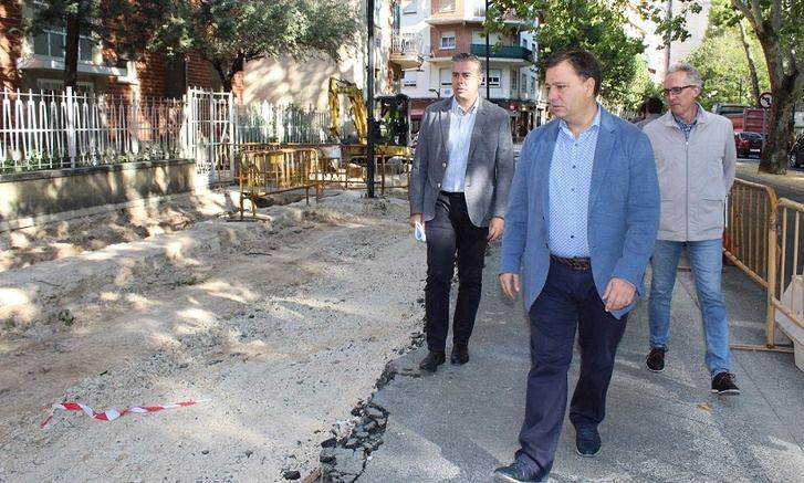 Las obras del Paseo de Simón Abril cambiarán la imagen de esta céntrica vía de Albacete