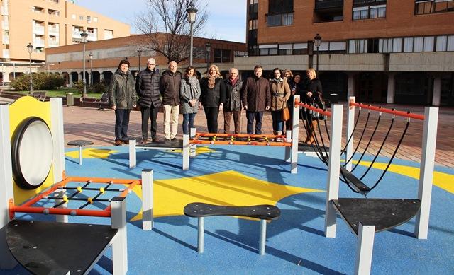 Albacete ya cuenta con cinco nuevas áreas de juegos infantiles