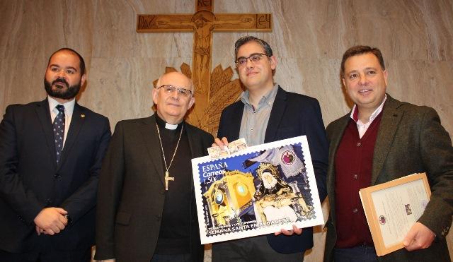 Un sello de Correos promociona en toda España la Semana Santa de Albacete