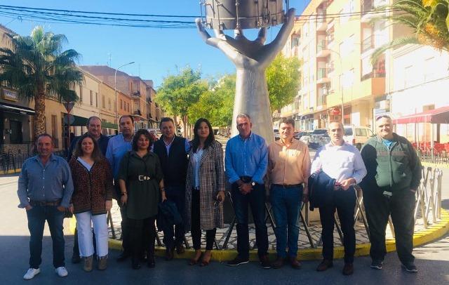 Manuel Serrano (PP) recorre parte de la provincia de Albacete y muestra su respaldo a ganadores y agricultores