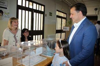 "Manuel Serrano (PP) animó a votar para que el próximo gobierno municipal de Albacete ""salga reforzado"""