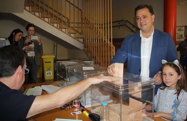 Manuel Serrano, candidato del PP.
