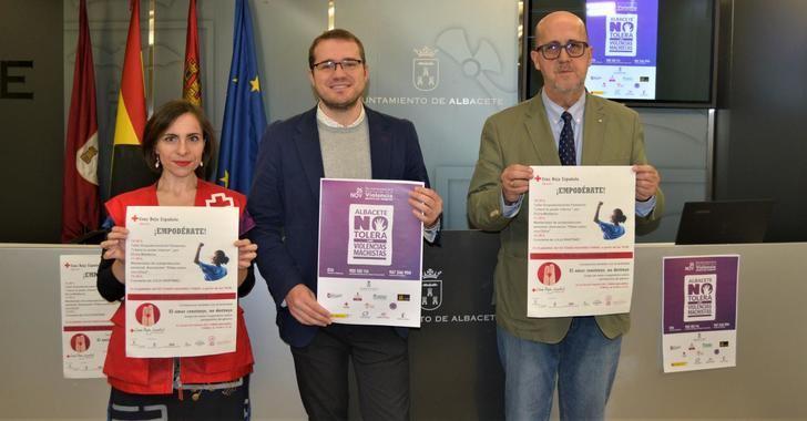 El Ayuntamiento de Albacete se vuelca en la celebración el día 25 del 'Día Internacional contra la Violencia hacia las Mujeres'