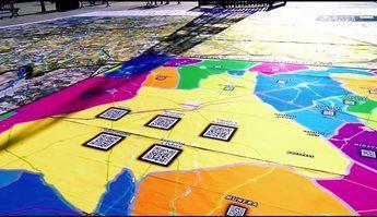 Villarrobledo contará con un mapa gigante interactivo en la explanada del ferial desde el próximo 16 de agosto