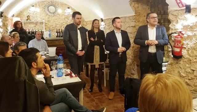 """La campaña de catas """"Marida mejor tu vida con vino"""" comienza su andadura en Caudete (Albacete)"""