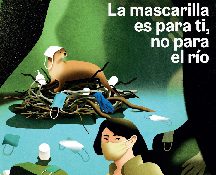 La Diputación pide a los ayuntamientos de Albacete sumarse a campaña de Transición Ecológica de uso responsable de mascarilla