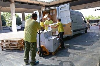 Castilla-La Mancha ha distribuido esta semana más de 275.000 artículos de protección a los centros sanitarios