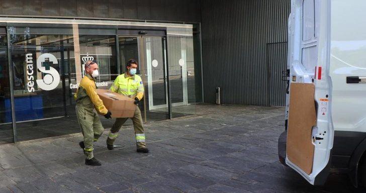 Castilla-La Mancha ha superado los 47 millones de artículos de protección enviados a los centros sanitarios