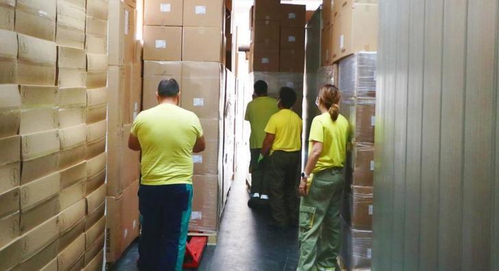 La Junta de Castilla-La Mancha lleva distribuidos más de 30 millones de artículos de protección para profesionales sanitarios