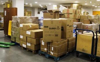 Los centros sanitarios de Castilla-La Mancha reciben más de medio millón de artículos de protección contra el coronavirus