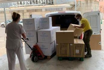 Hospitales y centros de salud de la provincia de Albacete reciben nuevo material de protección individual