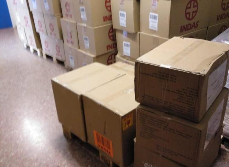 La Junta de Castilla-La Mancha ha enviado 256.000 artículos de protección para profesionales del Hospital de Albacete