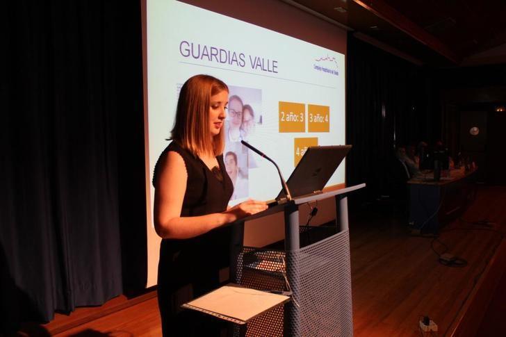 Elisa García, doctora del del Hospital de Toledo, elegida este año mejor residente de Geriatría de España