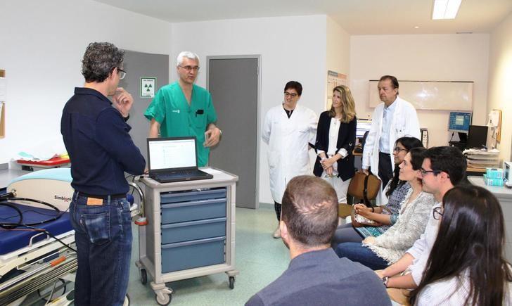 Médicos residentes de digestivo de Albacete, Alcázar y Ciudad Real participan en un taller de endoscopia virtual