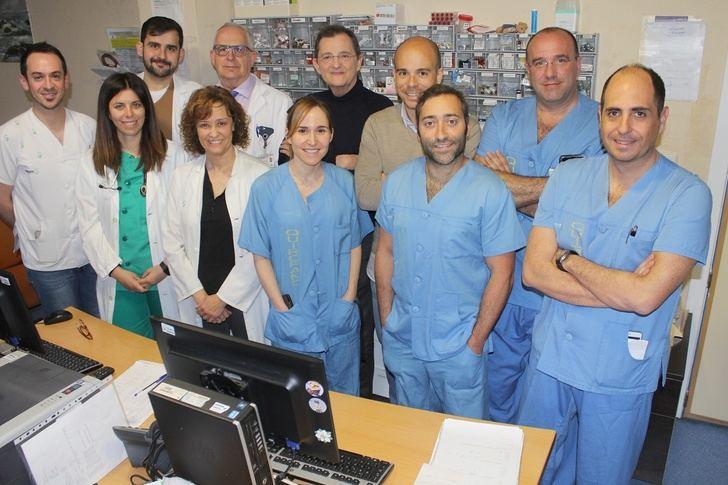 Médicos del Hospital de Toledo, premiados por un protocolo multidisciplinar de cirugía de carótidas