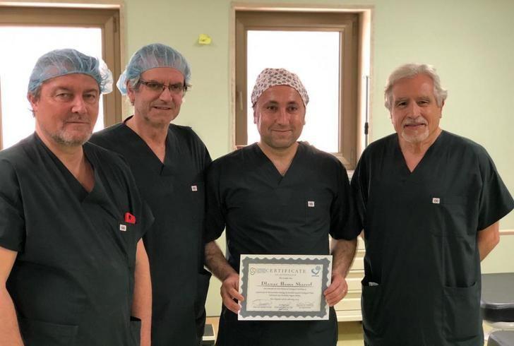 El jefe de Urología del Hospital de Parapléjicos de Toledo, en un proyecto de cooperación para operar a niños en Kurdistán