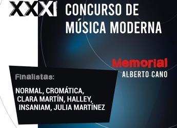 La final del XXXI Concurso de Música ' Memorial Alberto Cano' tendrá lugar el sábado 27 de abril en el Auditorio de Albacete