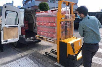 Mercadona dona más de 500 toneladas de alimentos en 2020 a entidades sociales de Castilla-La Mancha