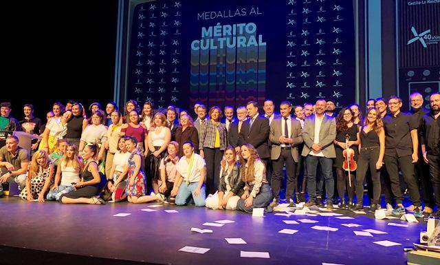 Albacete acogió la entrega de medallas del Mérito Cultural de Castilla-La Mancha