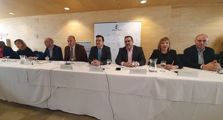 La Diputación de Albacete defendió los intereses de la provincia en la Mesa del Agua de Castilla-La Mancha