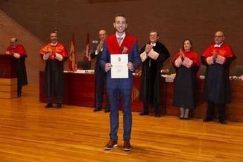 Miguel Ángel Sevilla Duro, exalumno de la UCLM en Albacete, Mejor Graduado en Derecho de España