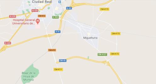 Herido grave un joven de 14 años tras sufrir una caída de su bicicleta en Miguelturra (Ciudad Real)