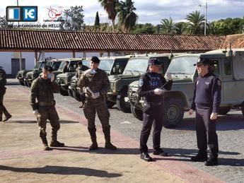 El Ejército llega a Hellín para colaborar con la Policía Nacional en labores de seguridad