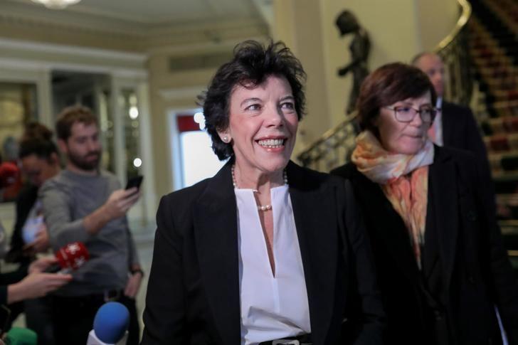 La ministra de Educación afirma que la suspensión de clases presenciales se puede prolongar hasta 'mayo o junio'