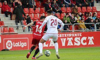 Mirandés y Albacete, que sale del descenso, se reparten los puntos en un encuentro sin ocasiones